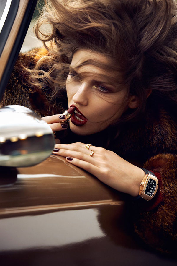 Kendra Spears in French Vogue shot by Lachlan Bailey 2
