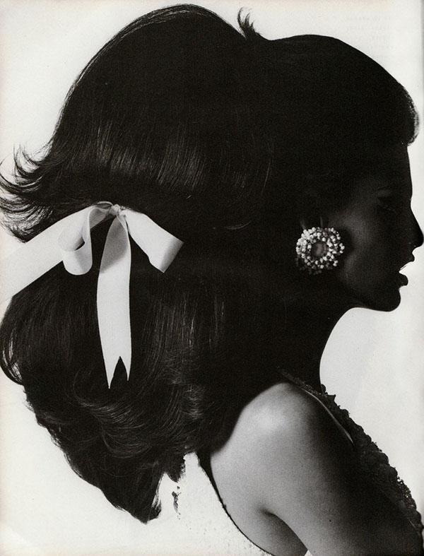 Linda Evangelista - shot by Steven Meisel for Vogue Italia Dec 1990 - The HAIR