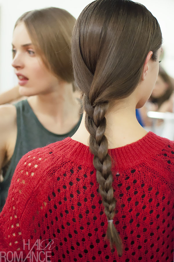 Australian Fashion Week - Hair Romance behind the scenes Day 2 - 1