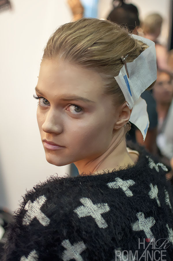 Australian Fashion Week - Hair Romance behind the scenes Day 2 - 13