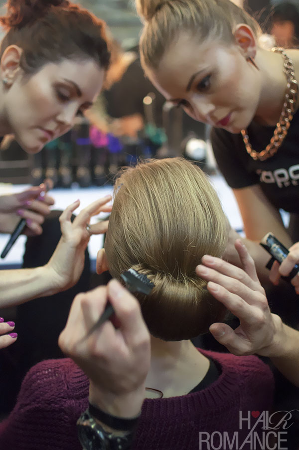 Australian Fashion Week - Hair Romance behind the scenes Day 2 - 15