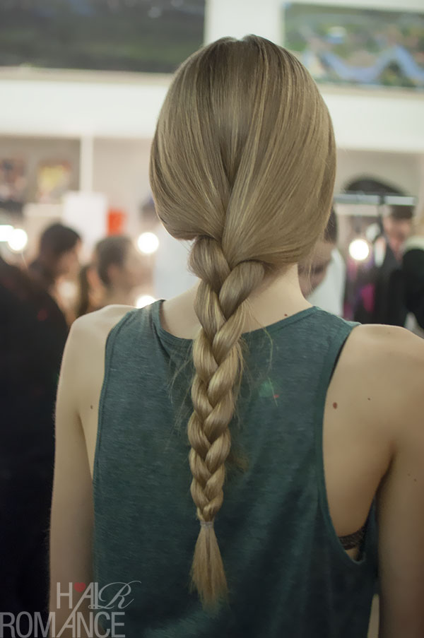 Australian Fashion Week - Hair Romance behind the scenes Day 2 - 2