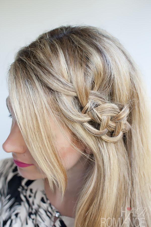 Hair Romance - 4 strand slide up braid - version 2