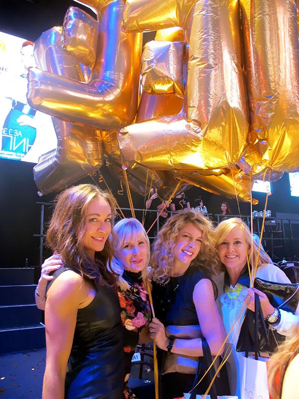 Hair Romance - Elle Magazine runway party - Michelle Bridges