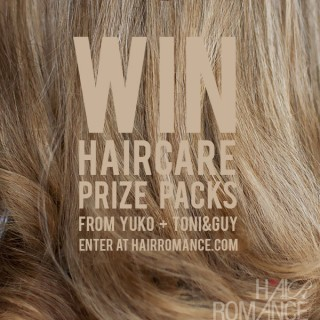 Win fabulous hair with the Hair Romance May Giveaway