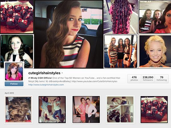 Cute girls hairstyles instagram erotic images 4