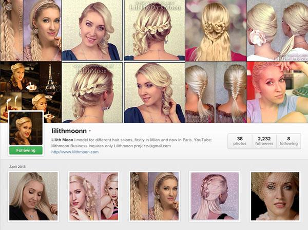 Instagram accounts to follow - lilithmoonn