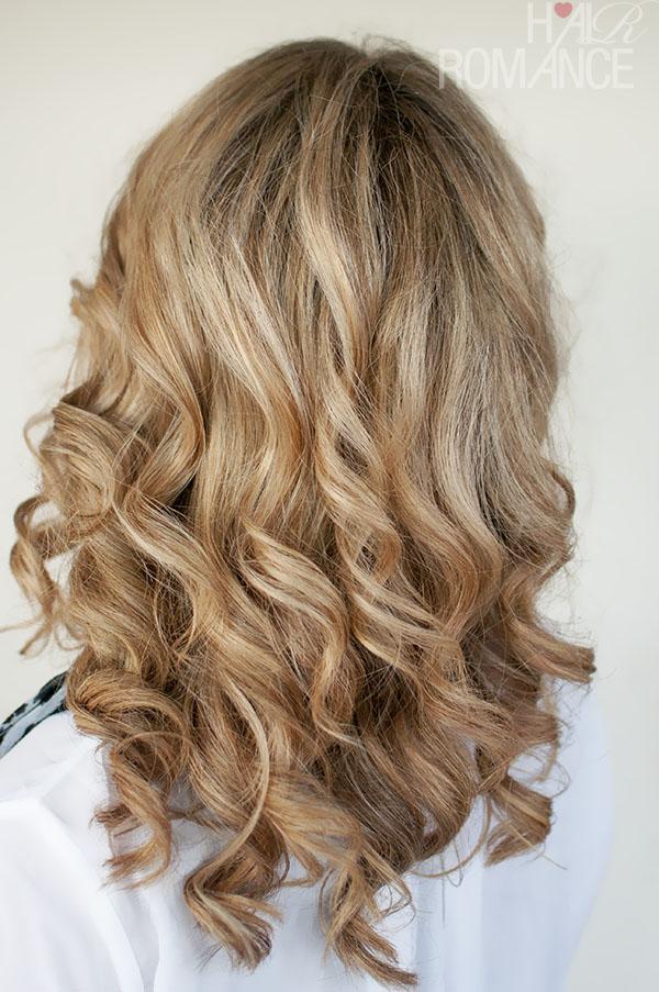 Hair Romance curled hair