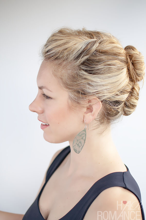 Hair Romance - The Double Bun Hairstyle for curly hair