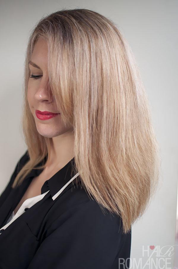 Hair Romance - the last of my blonde hair