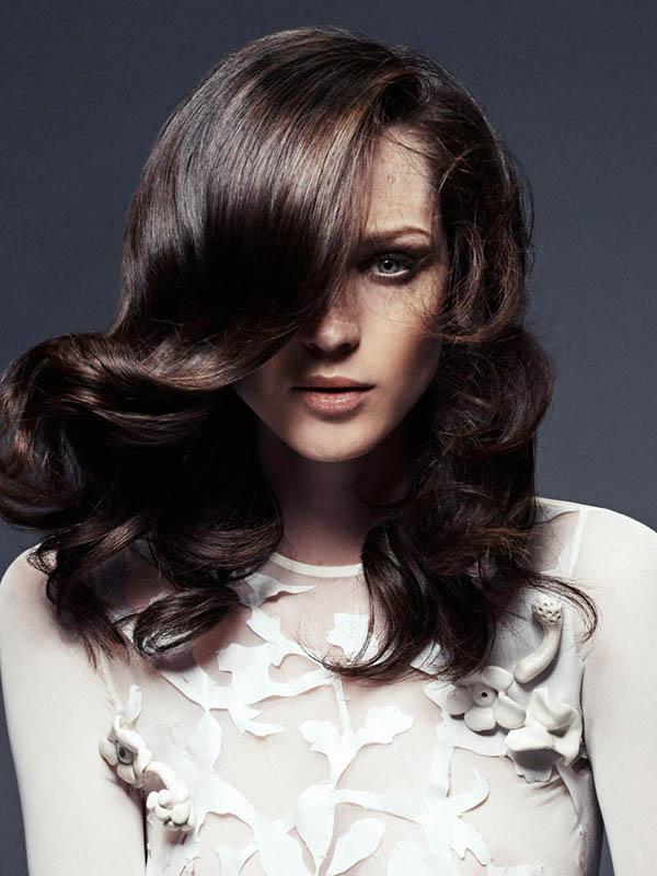 Hair Romance - Big Hair Friday - Carla Crombie shot by Vladimir Marti