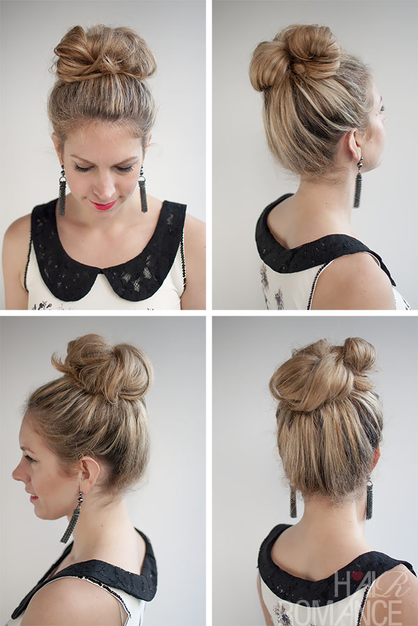 30 Buns In 30 Days Day 2 Messy High Bun Hair Romance