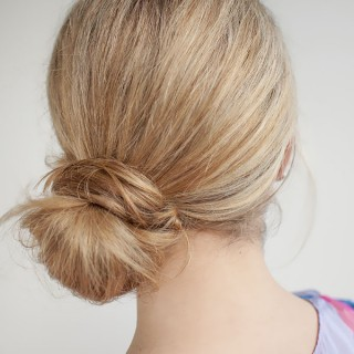 30 Buns in 30 Days – Day 24 – The side knot bun