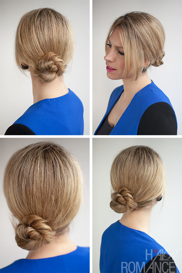 rope braid twist bun hairstyle tutorial