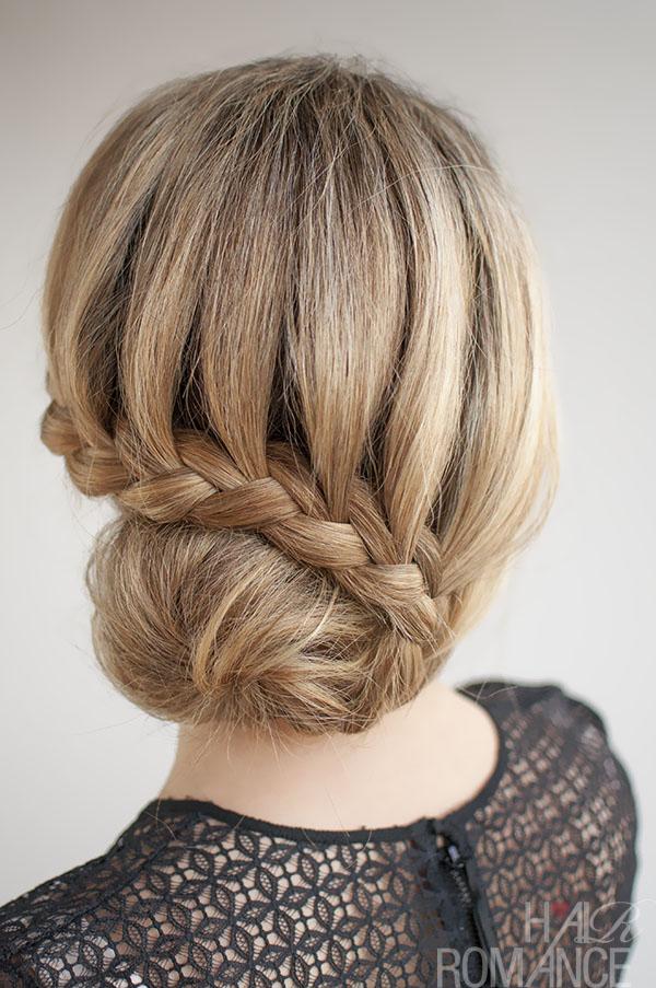 30 Buns In 30 Days Day 7 Lace Braided Bun Hair Romance