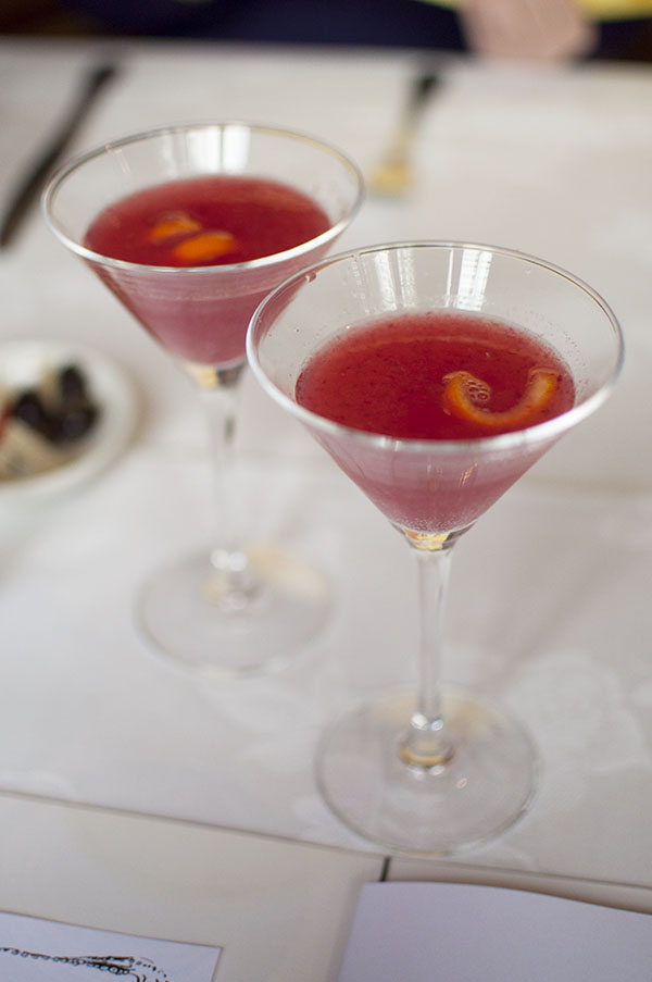Blood orange aperol apritivi