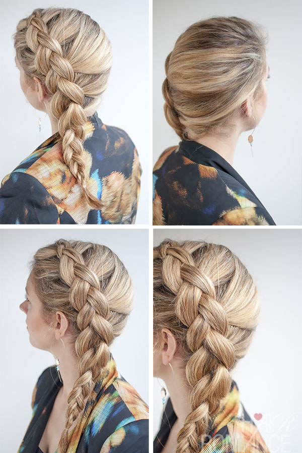 534653816 Hair Romance - side Dutch braid hairstyle tutorial