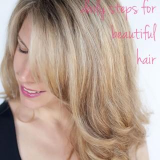 Hair Romance's daily steps for beautiful hair