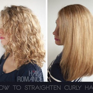 How to straighten curly hair with the Elkie Creative Styler