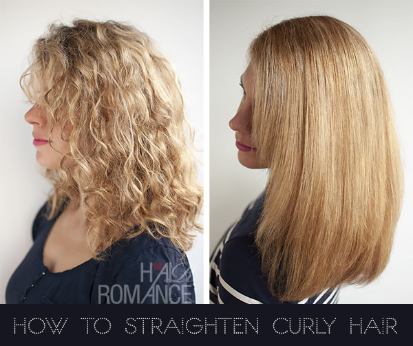 How to straighten curly hair with the Elkie styler