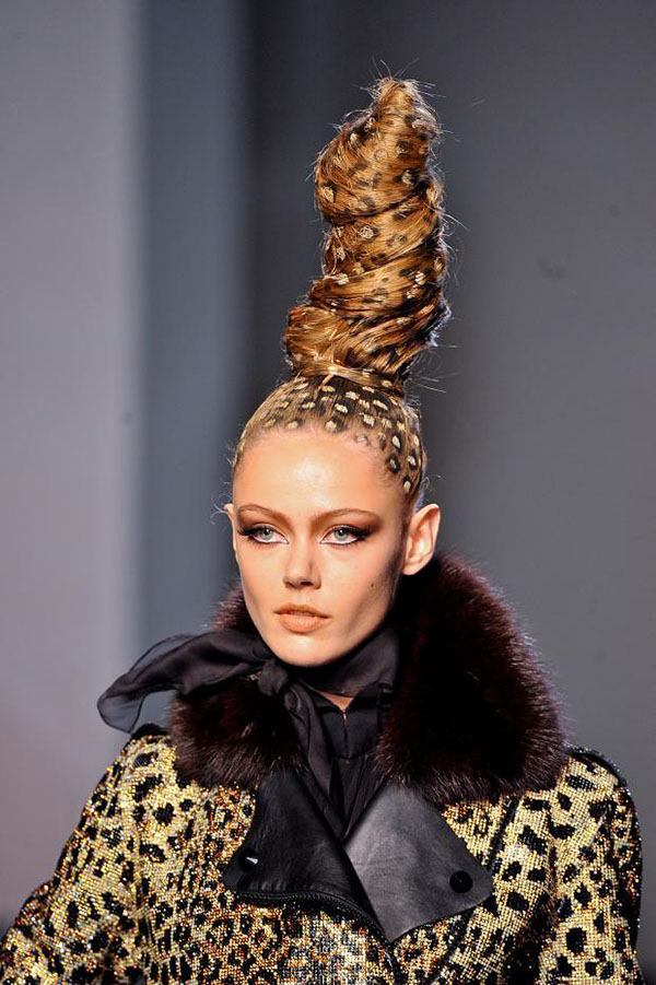 4098aef4a6 Big Hair Friday - Jean Paul Gaultier Couture - Hair Romance