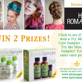 Win FREE DermOrganic Hair & Skin Try Me Sets!