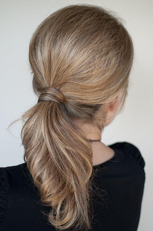 Hair Romance - NYC 1 minute ponytail