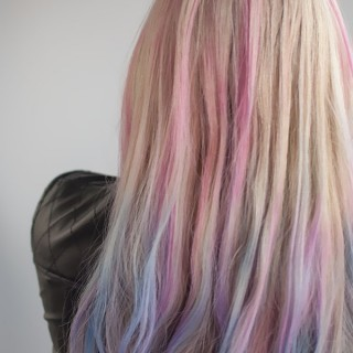How to use hair chalk