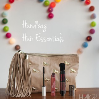 Hair products you need in your handbag