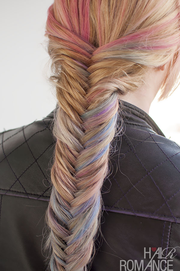 Hairstyle Tutorial: How to do a fishtail braid - Hair Romance