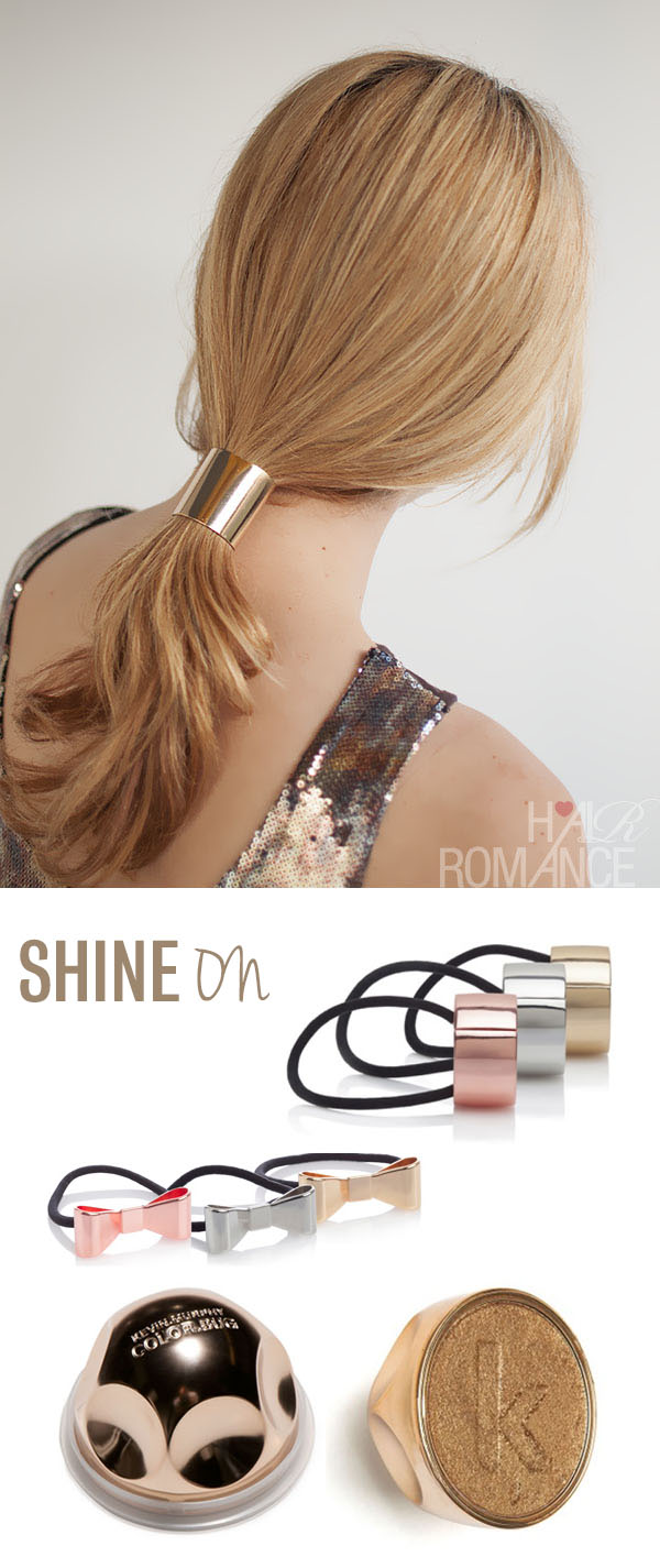Hair Romance - metallic hair accessories and kevin murphy shimmer bug