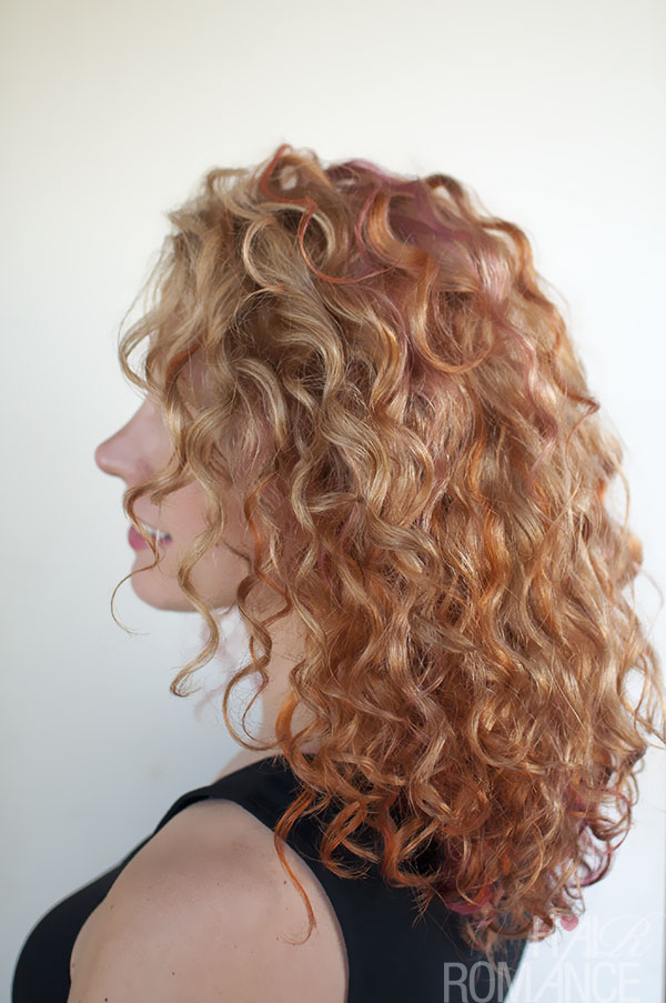 Hair Romance - pink and orange curls 1