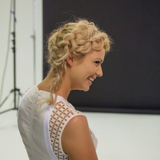 Behind the scenes as a judge for Australia's Most Beautiful Hair with Schwarzkopf