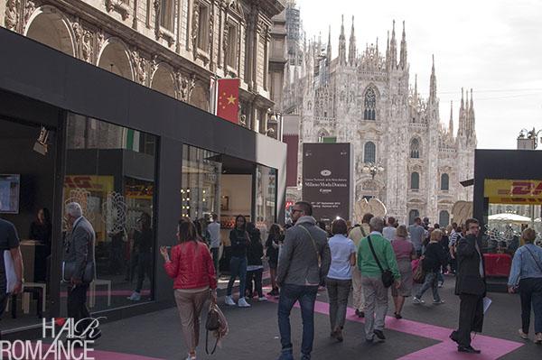 Testanera pop up salon - Milan Fashion Week