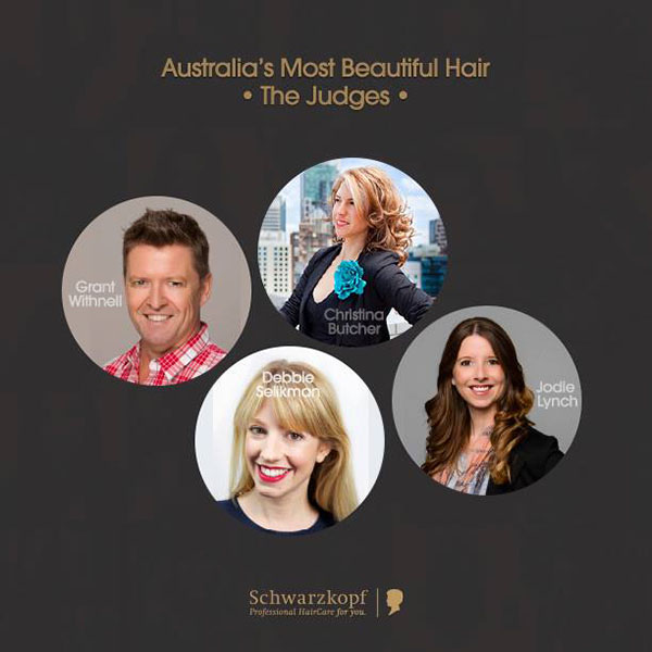 The judges - Australia's most beautiful hair