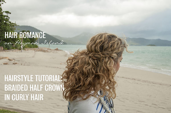 Hair Romance - Braided Half Crown hairstyle tutorial video