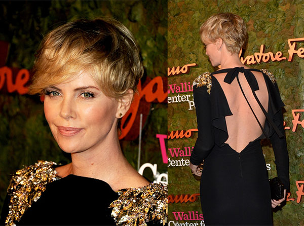 Hair Romance - Charlize Theron - Pixie cut hairstyle