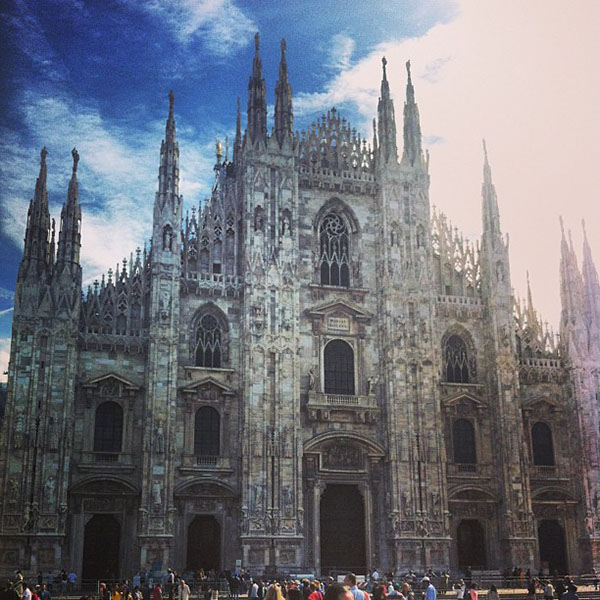 Hair Romance - Milan Fashion week diary 1
