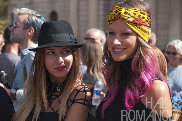Hair Romance - Street style hair - MIlan Fashion Week 8