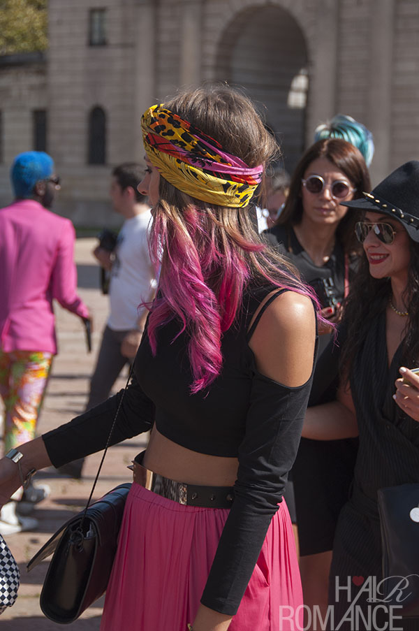 Hair Romance - Street style hair - MIlan Fashion Week 9