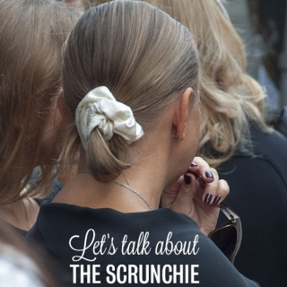 Let's talk about the scrunchie