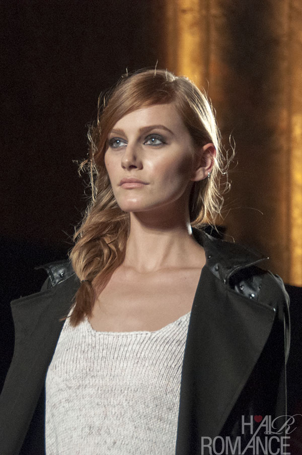 Runway hair trend you can wear every day - The side fishtail braid