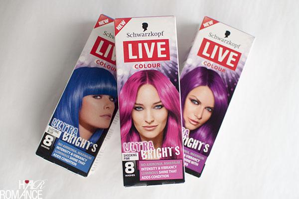 Hair Romance - Schwarzkopf Live Ultra Brights