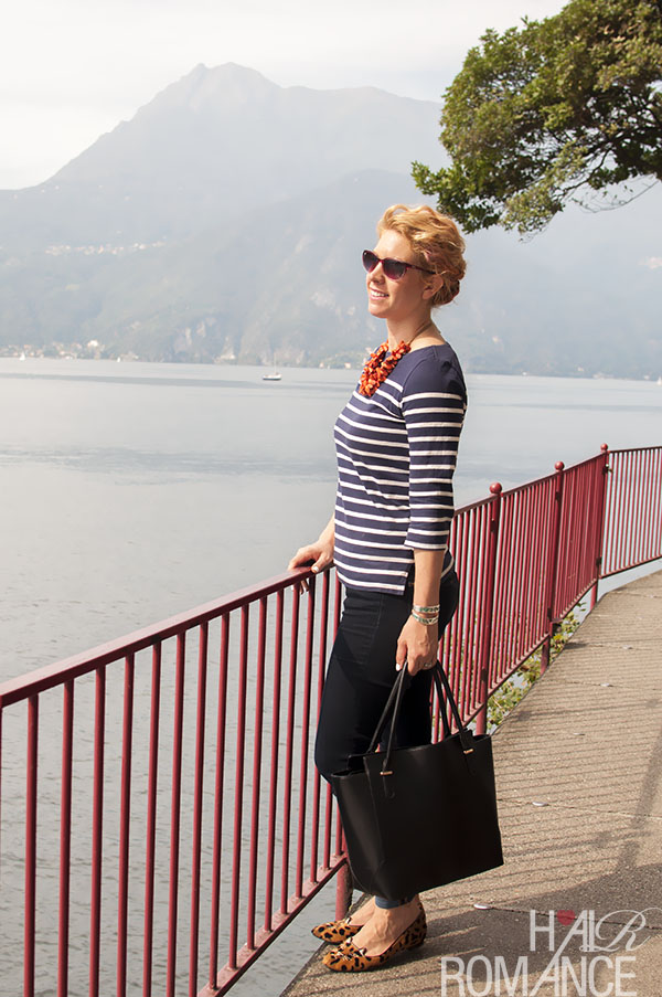 Hair Romance at Lake Como