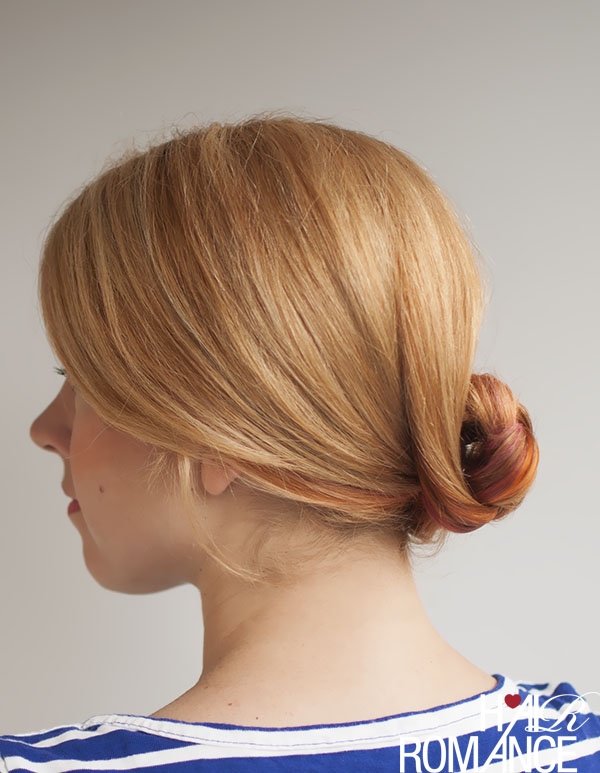 Hair Romance - how to do a braided bun