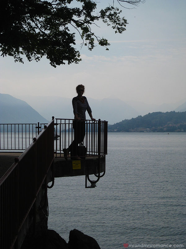 Mr and Mrs Romance sunset at Lake Como Italy