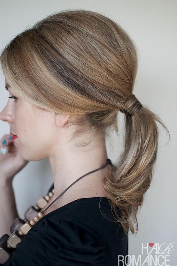 1960s ponytail_Hair Romance