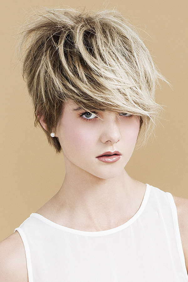Cool short haircut and colour by Muse Hair