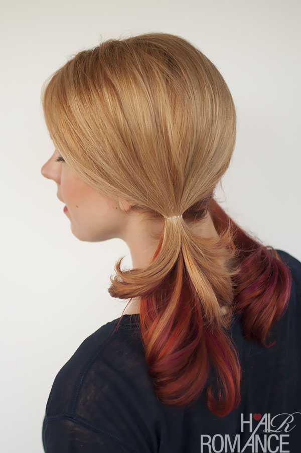 how to wear pigtails without a partline and hide any regrowth