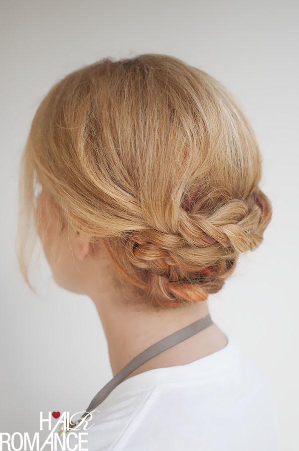 Hair Romance - braided upstyle